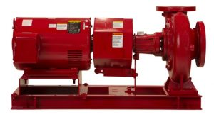 B&G Series e-1510 End Suction Base Mounted Pump reduced size
